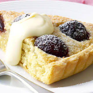Cherry and Almond Tart.