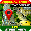 Navigation GPS, Cartes Live Street View Directions