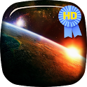 Earth At Night HD Live Wallpap icon