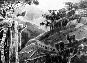 Photo: Subindo a Serra da Estrela. Desenho sem data