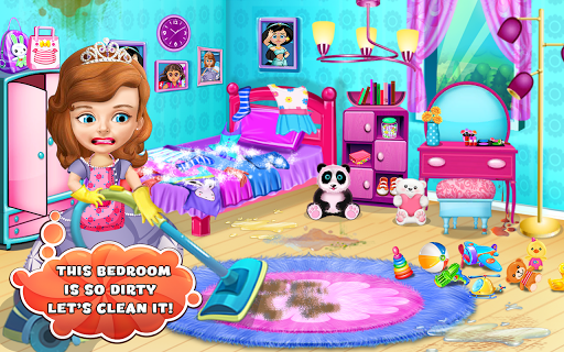 Princess Sofia Cleaning Home 1.0 screenshots 5