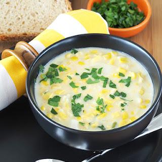 Healthier Corn Chowder