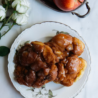 Vanilla Bean Glazed Apple Fritters