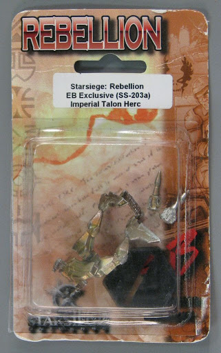 Figure:Miniature Gaming Figure: Starsiege Rebellion - Imperial Talon Herc