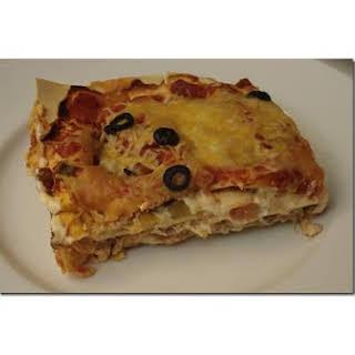 Denise and Jill's Mexican Lasagna.