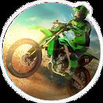 Motorbike Racing Icon