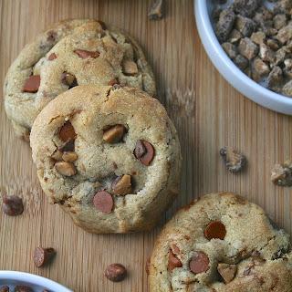 Cinnamon Toffee Chip Cookies.