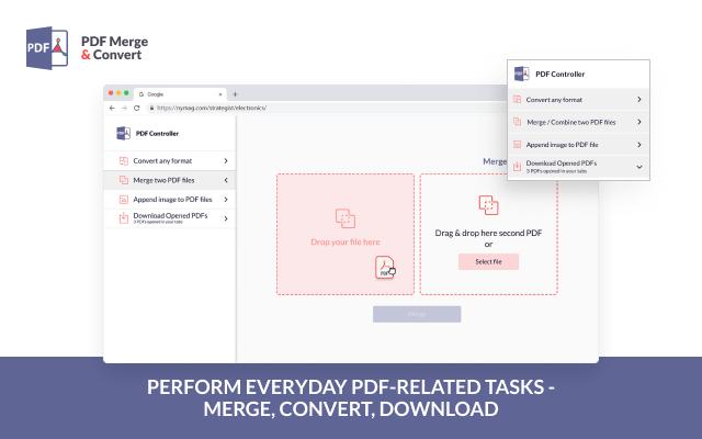 PDF Merge and Convert