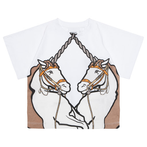 Primary image of Burberry Double Unicorn T-shirt