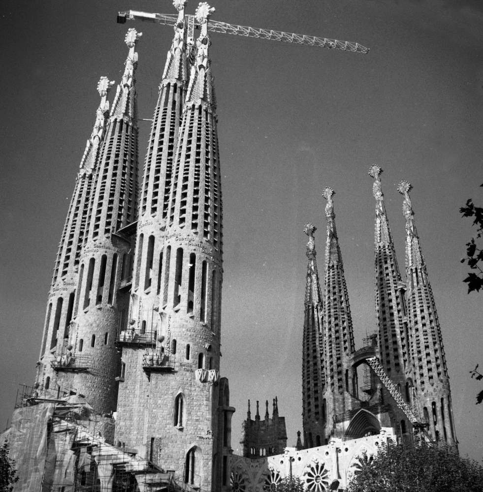Строительство собора Саграда де Фамилия