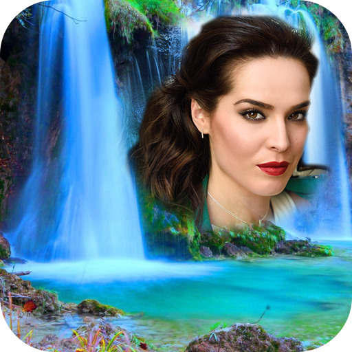 Waterfall Photo Collage -Blend Photo