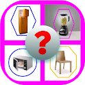 Home items quiz - 1 pic 1 word Guess the home item icon