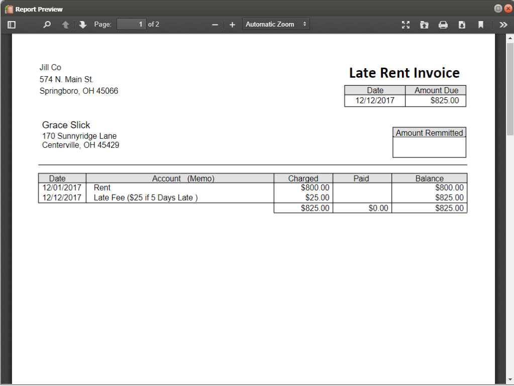 Property Management by Simple Landlord- screenshot