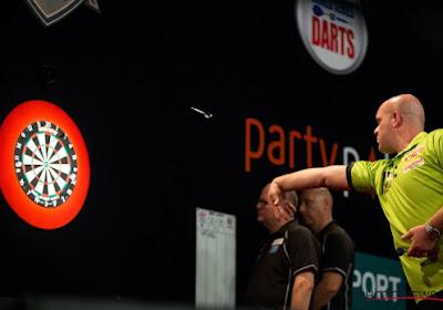 Opvallend: Michael van Gerwen gooit nine-darter op UK Open Darts