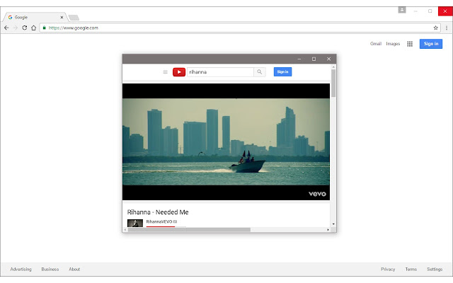 Floating Panel for YouTube™