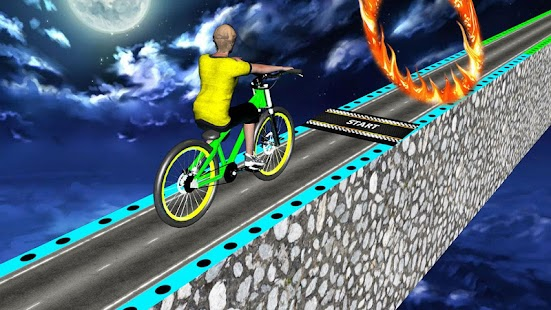 Download Impossible Bmx Stunts Racer 2017: Dangerous Tracks For PC Windows and Mac apk screenshot 1