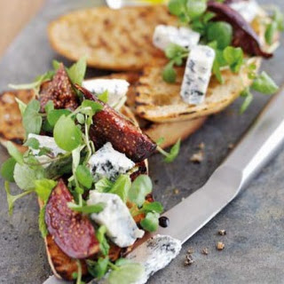 A Tasty Antipasto with Gorgonzola Piccante Cheese