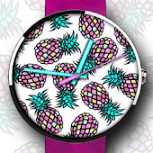 Funky Pineapple Watch Face