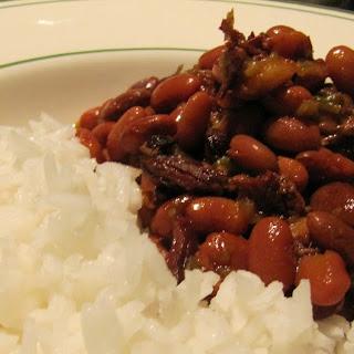 Cajun Pinto Beans.