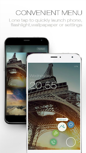ZUI Locker-Elegant Lock Screen screenshot 4