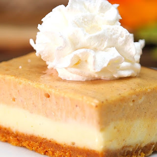 Pumpkin Cheesecake Bars Will Pumpkin Spice up Your Life!
