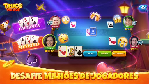 Truco Vamos: Free Card Game Online apktram screenshots 3