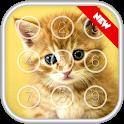 Kitty Cat Passcode Lock Screen icon