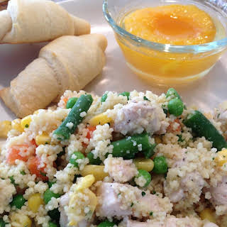 Chicken and Vegetable Couscous.