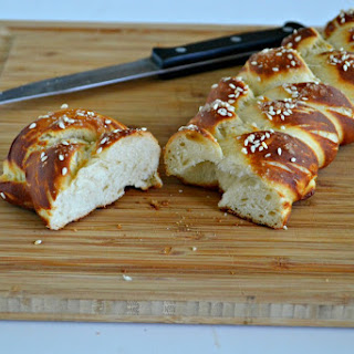 Vegan Hot Pretzel Challah Bread