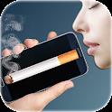 Smoking cigarette icon