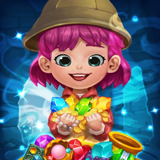 Jewels fantasy : match 3 puzzle 1.0.24  APK MOD