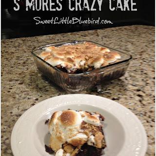 S'Mores Crazy Cake