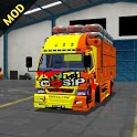 New Mod Bussid Truck Canter 2021 icon