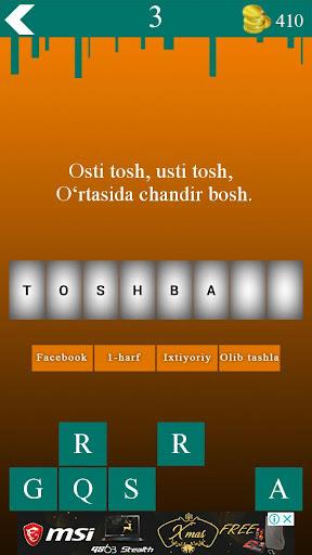 Topishmoqlar 10.0 screenshots 3