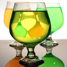 updown by Mervin Anto - Artistic Objects Glass ( reflection, colors, wine glass, glass )