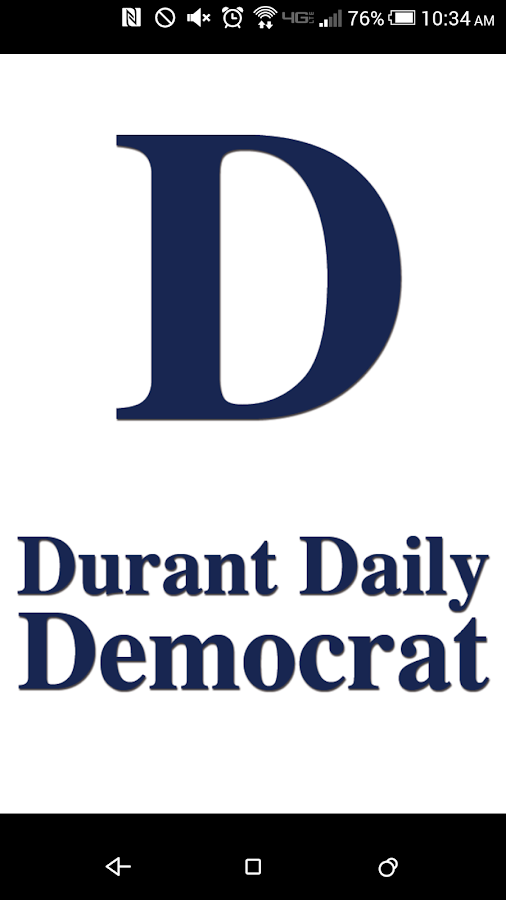 Durant Daily Democrat- screenshot