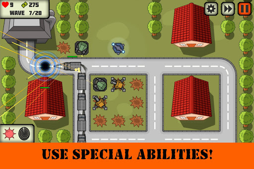 Tactical V: Tower Defense Game 1.3 screenshots 4