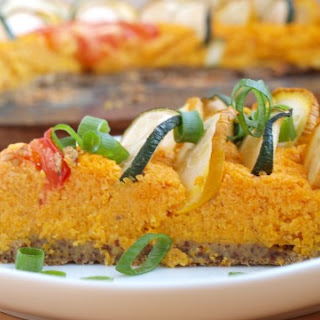 Carrot Zucchini Savory Pie