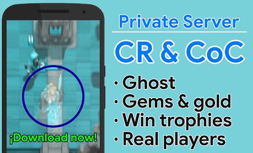 App CR & CoC Private Server - Clash Barbarians PRO APK for Windows Phone