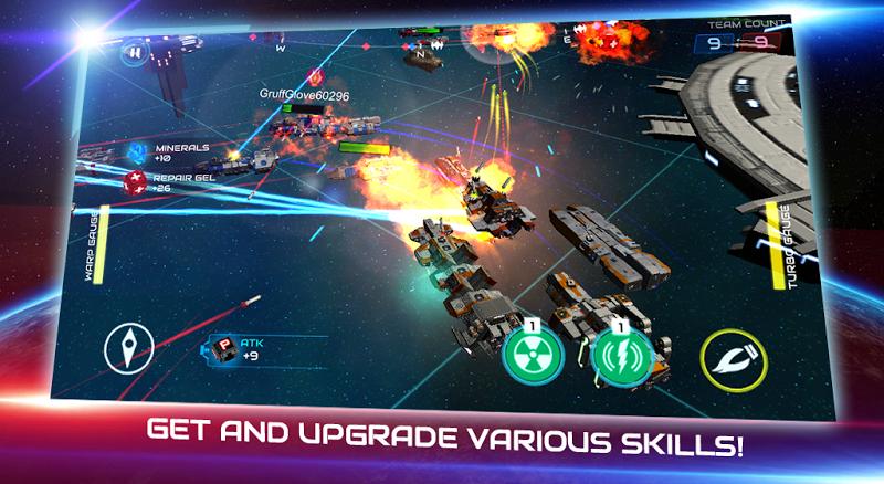 Starship battle Screenshot 5