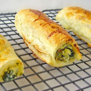 Feta Ricotta Spinach Rolls