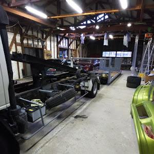 エルフトラック 積載車 極東フラトップのカスタム事例画像 ホイールカスタムファクトリーKz  金沢市さんの2021年01月07日13:03の投稿