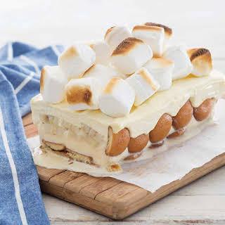Banana Pudding Ice Cream Cake.