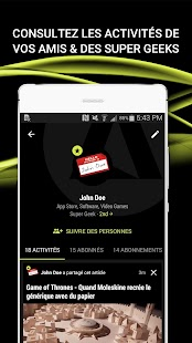 Appy Geek – Actus tech Capture d'écran