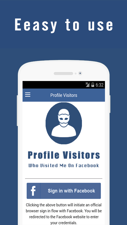 Profile Visitors- screenshot