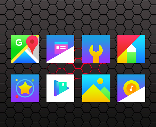 Rocsy Square - Icon Pack app for Android screenshot