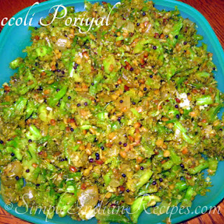Broccoli Poriyal (Stir Fry)