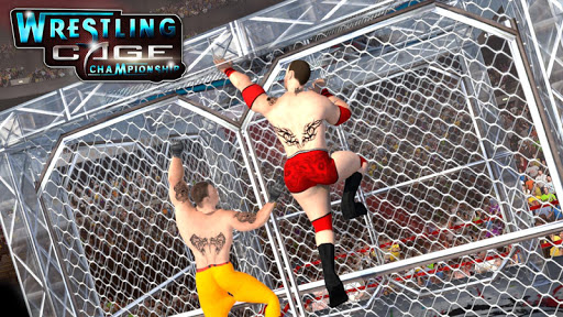 Wrestling Cage Championship : WRESTLING GAMES for PC