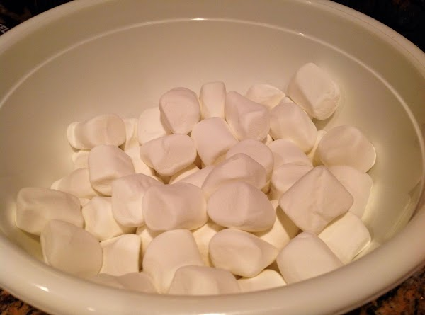 Open bags of Marshmallows and place in large bowl.Footnote:  I have changed this...