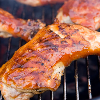 Backyard Barbecued Chicken with Homemade BBQ Sauce Recipe